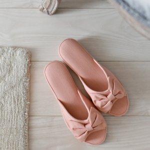 リボンヒールスリッパ (ピンク)(無くなり次第終了)/フォーマル 上履き