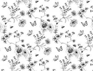 【特別アウトレット】FLOWER&INSECT (ブラック)