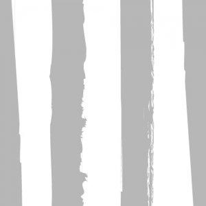 HANDWRITING STRIPE (ハンドライティングストライプ・メタリックシルバー)