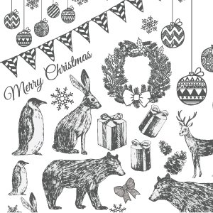 CHRISTMAS PARTY(クリスマスパーティー・ダークグレー)