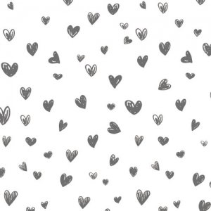 HEART HANDWRITING(S)(ハート ハンドライティング・ダークグレー)