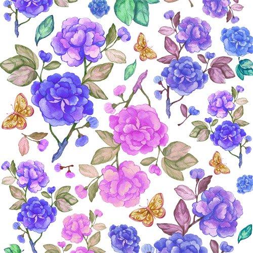 VICTORIA FLOWER(ブルー)