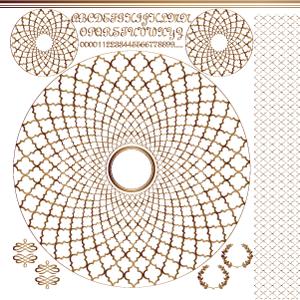 MOROCCAN PATTERN SET(モロッカンパターンセット/ブライトゴールド・レンジ対応)