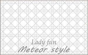 Lady fun(無地×グレー)
