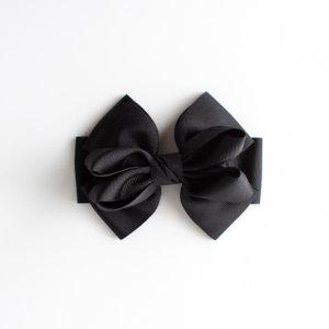 完成品リボンパーツ2個セット(ブラック)