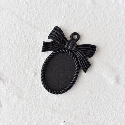 リボンフレーム(ブラック)