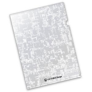 VICTORIA Designオリジナルクリアファイル※A3