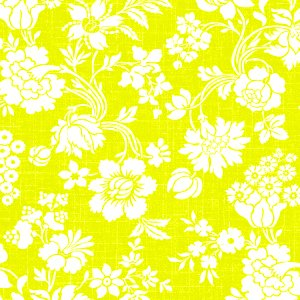 FLOWER ARABESQUE(フラワーアラベスク・イエロー)