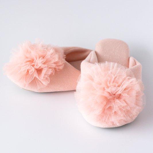 フラワールームシューズ(ピンク)