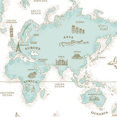 WORLD MAP(ワールドマップ・ティファニー)