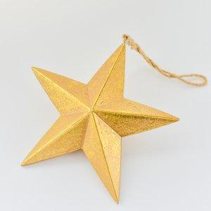 ノエルデコール(ゴールド) / クリスマス オーナメント 飾り ツリー 金 星