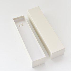 長方形ギフトBOX(ホワイト)/箱 プレゼント ラッピング  フタ付き 誕生日