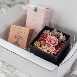 プリザーブドフラワーギフトセットA/プレゼント 誕生日 BD 女性