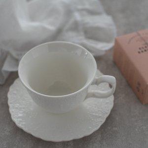 リズレース(カップ&ソーサー)/おしゃれ 食器