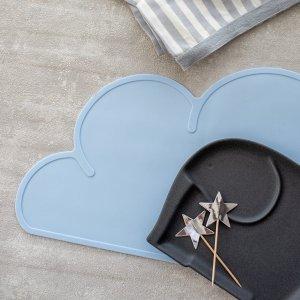 【特別アウトレット】クラウドマット(ブルー)/雲 こども キッズ プレイスマット