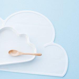 【特別アウトレット】クラウドマット(ホワイト)/雲 こども キッズ プレイスマット