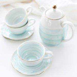 ペールカラーシリーズ(ブルー)/カップ ソーサー ポット 食器