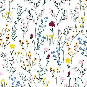 RUSTIC FLOWER(ラスティックフラワー)/転写紙 北欧 ナチュラル 花柄 可愛い