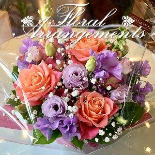 お花のアレンジメント 花束 40束 ギフト フラワーアレンジメント プレゼント サプライズ お祝い 誕生日 記念日 母の日 結婚記念日 結婚祝い 退職祝い 定年 送別会 還暦 クリスマス 妻 両親