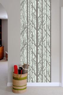 TREES Pattern Wall tiles(ウォールタイル)lightgray