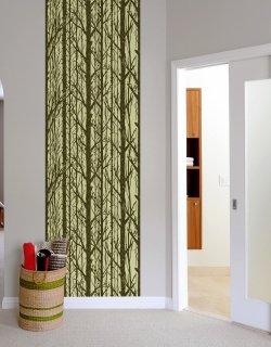 TREES Pattern Wall tiles(ツリーズブラウンウォールタイル)brown