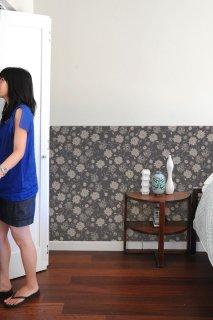 PSYCHEDELIC GARDEN Pattern Wall tiles(ガーデンウォールタイル)Smoke