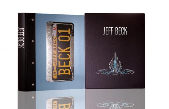 ジェフ・ベック 輸入豪華写真集『BECK 01』