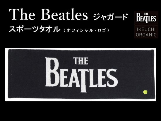 The Beatles ジャガード スポーツタオル(オフィシャル・ロゴ)<img class='new_mark_img2' src='//img.shop-pro.jp/img/new/icons15.gif' style='border:none;display:inline;margin:0px;padding:0px;width:auto;' />