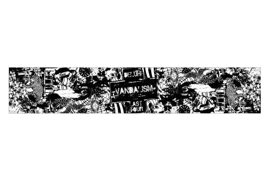 DELUHI LAST TOUR  -VANDALISM- 2011 復刻マフラータオル