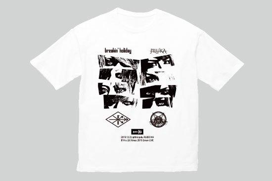 2MAN LIVE「B'HxJLK -Xmas 2019-」ビッグシルエットTシャツ