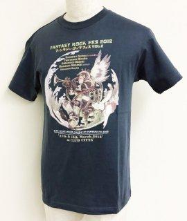 FANTASY ROCK FES 2012<br>第2回ファンタジー・ロック・フェス<br>Tシャツ