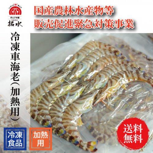 種子島産冷凍車海老(加熱用)