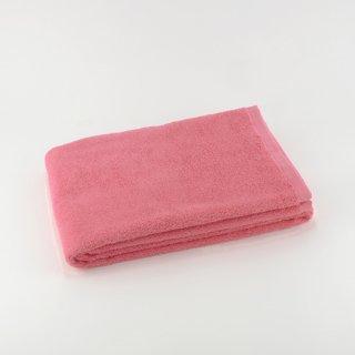 カラーパイル バスタオル(ピンク)