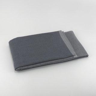 2トーンシャンブレー バスタオル(ブラック2)