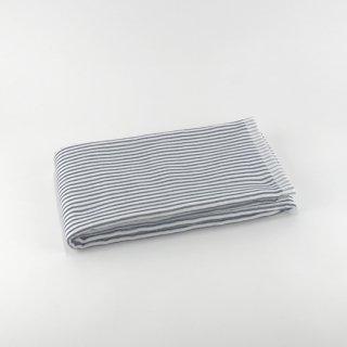 シャツストライプ コンパクトバスタオル(Aダークブルー)