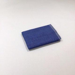 2トーンシャンブレー ウォッシュタオル(ブルー2A)