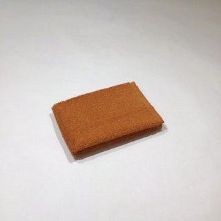 メール ウォッシュタオル(オレンジ)