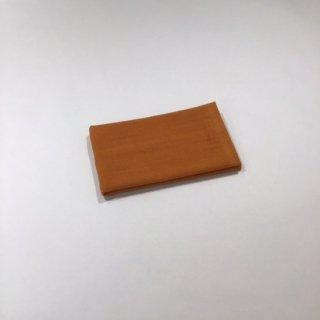 ガーゼ&パイル ウォッシュタオル(オレンジ)