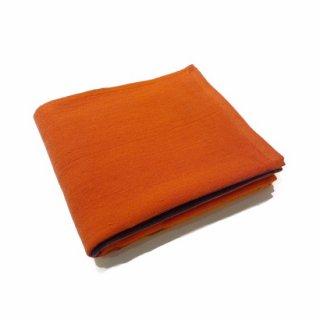 ディビジョン8シャンブレー フェイスタオル(オレンジ)