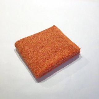 メランジュパイル フェイスタオル(オレンジ)