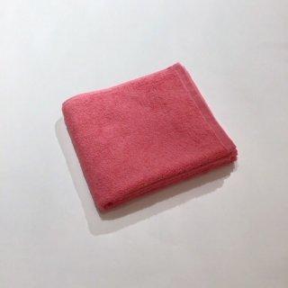 カラーパイル フェイスタオル(ピンク)