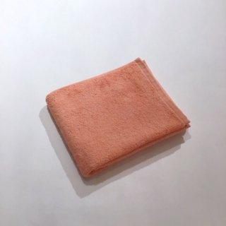カラーパイル フェイスタオル(オレンジ)
