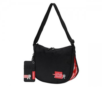 Lisa Larson x Manhattan Portage Columbus Circle Shoulder Bag