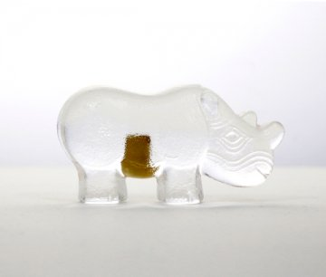 ROYAL KRONA Glass Rhino