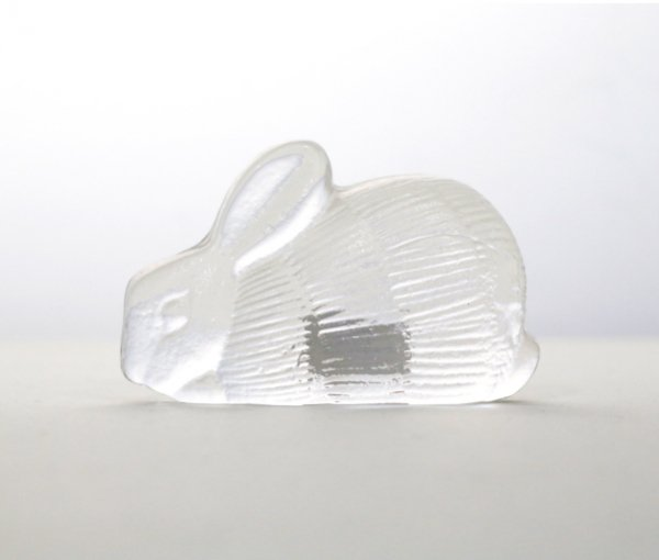 ROYAL KRONA Glass Rabbit