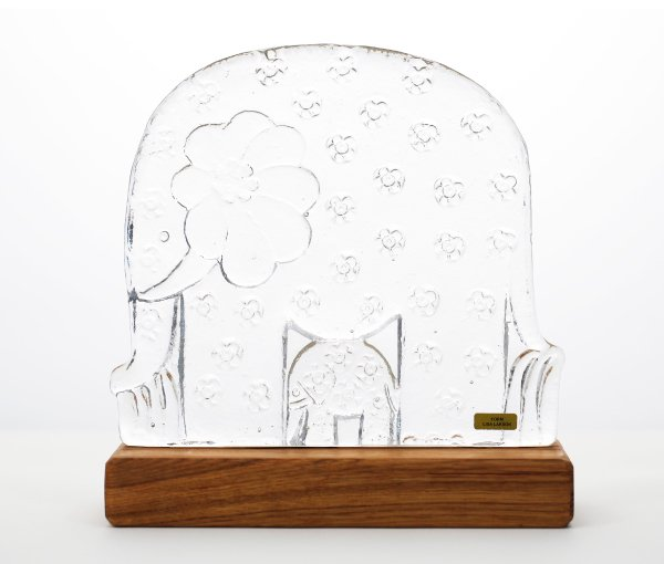 ROYAL KRONA Glass Big Elephant