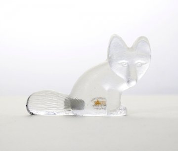 ROYAL KRONA Glass Fox
