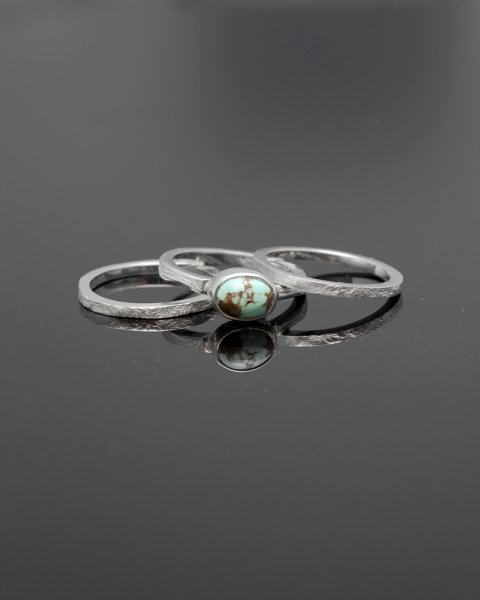 2019 SILVER PERSPIRATION<br>Turquoise  silver ring LLR-008tq<br>