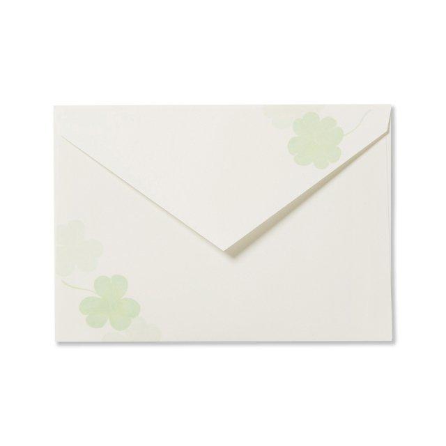 封筒 クローバーリーフ