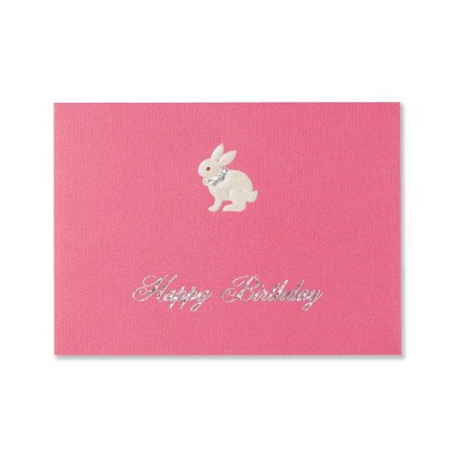 カード ウサギ BIRTH